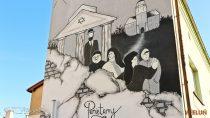 WWieluniu powstał mural nacześć wieluńskich Żydów propagujący szacunek dodrugiego człowieka