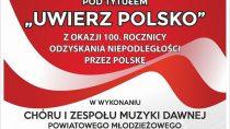 "Koncert pt. ""Uwierz Polsko"""