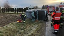 Niedostosowanie prędkości dopanujących warunków nadrodze przyczyną dwóch wypadków