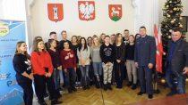 Spotkanie zfunkcjonariuszem Zakładu Karnego wSieradzu izpracownikiem MCK Wieluń