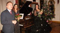 Najpiękniejsze pieśni iarie operowe Fryderyka Chopina iStanisława Moniuszki zagościły wMuzeum Wnętrz Dworskich wOżarowie
