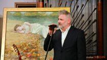 """W""""Zielonej Werandzie"""" otwarto wystawę prac malarskich Daniela Pieluchy"""