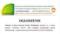 Fundacja naRzecz Rozwoju Powiatu Wieluńskiego prowadzi bezpłatną wypożyczalnię sprzętu rehabilitacyjnego