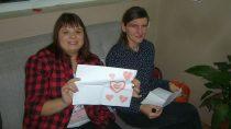 Walentynki wWarsztatach Terapii Zajęciowej wOlewinie