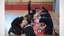 WZespole Szkół nr3 wWieluniu odbył się Kurs Urazowy Pierwszej  Pomocy