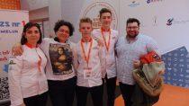Drużyna ZS nr1 zdobyła piąte miejsce wMistrzostwach Polski Szkół Cukierniczych podczas EXPO SWEET 2019