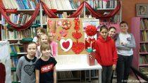 WFilii Bibliotecznej wTurowie rozstrzygnięto konkurs nanajpiękniejszą walentynkę