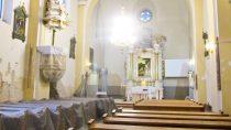 Remont wnętrza kościoła św.Marii Magdaleny wOżarowie