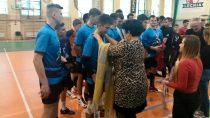 Drużyna chłopców zZS nr1 wWieluniu wicemistrzem Mistrzostw Województwa wpiłce siatkowej szkół ponadgimnazjalnych