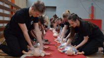 Uczniowie zZespołu Szkół nr3 wWieluniu przeszli Kurs Podstawowy Pierwszej Pomocy Przedmedycznej