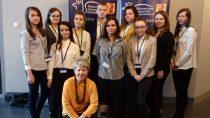 Cztery uczennice Zespołu Szkół nr1 wWieluniu wcentralnym etapie Konkursu wiedzy opodatkach
