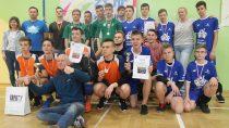 SP nr4 wWieluniu naII miejscu wX Turnieju Mini Piłki Siatkowej Szkół Podstawowych Chłopców
