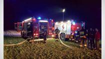 Kolejne podpalenie wRychłocicach. Strażacy apelują opomoc wznalezieniu sprawcy