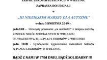 III Niebieski Marsz dla Autyzmu w Wieluniu