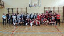 Drużyny: żeńska zZS nr1 imęska zZS nr3 wPółfinałach Mistrzostw Województwa wkoszykówce