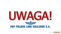 PKP informuje: od25 marca do15 kwietnia zmiany worganizacji ruchu naodcinku Herby Nowe – Wieluń Dąbrowa