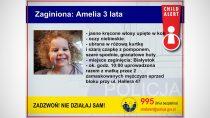 Policja apeluje: policjanci poszukują 3-letniej Amelki ijej matki Natalii