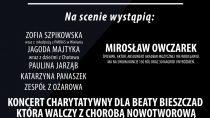 Koncert charytatywny w OSP w Ożarowie na rzecz chorej na nowotwór Beaty Bieszczad