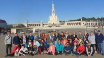 Wierni zparafii św.Barbary wWieluniu pielgrzymowali doFatimy idoSantiago de Compostela
