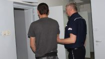 36-letni mężczyzna złapany napróbie włamania dodomu jednorodzinnego