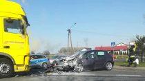 Uwaga kierowcy, utrudnienia wruchu na176 km drogi DK 45 wWieluniu