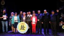 Grupa Teatralna SWOJAKI zeSkrzynna orazZespół Folklorystyczny wPopowicach nagrodzeni wŁódzkim Domu Kultury
