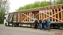 Wieluński szpital otrzymał wdarze 30 łóżek rehabilitacyjnych zmiasta partnerskiego Ochtrup