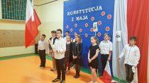 Żywa lekcja historii zokazji 228. rocznicy uchwalenia Konstytucji 3 Maja wSP wOżarowie