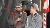 Marszałek Józef Piłsudski, Roman Dmowski iIgnacy Paderewski byli nalekcji historii wSP im.W. Bełzy wBieniądzicach