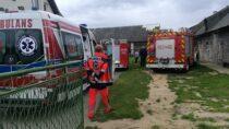 Wmiejscowości Łaszew Rządowy ciągnik przejechał 54-letniego mężczyznę