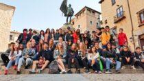 Wieluński Katolik zprogramem Erasmus+ wHiszpanii
