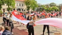 Obchody Dnia Flagi Państwowej Rzeczypospolitej Polskiej wWieluniu