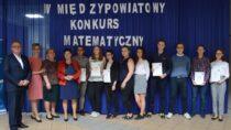 53 uczestników wzięło udział wIV Międzypowiatowym Konkursie Matematycznym wILO wWieluniu