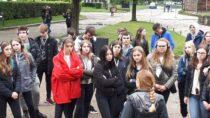 Wyjazd kl. III gimnazjum SP nr4 im.Królowej Jadwigi wWieluniu doobozu Auschwitz – Birkenau