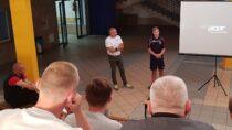 WILO wWieluniu odbyło się spotkanie zmłodzieżowym reprezentantem Polski ipiłkarzem Iligowej Odry Opole Maciejem Wróblem