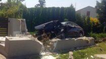 Jedna osoba wszpitalu zpowodu wypadku wKraszkowicach