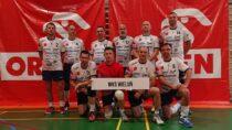 DrużynaWKS Wieluń Oldboyów wPiłce Siatkowej wywalczyła brązowy medal