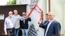 WWieluniu został uroczyście odsłonięty mural poświęcony międzywyznaniowemu dialogowi ipamięci wieluńskich Żydów