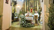 Zakończenie Oktawy Bożego Ciała usióstr Bernardynek wWieluniu