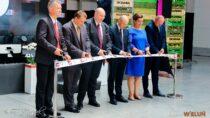 Delegacja zZS nr2 wWieluniu uczestniczyła wotwarciu nowoczesnej Lakierni firmy Stelweld