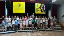 Srebrny Dyplom wmiędzynarodowym festiwalu pieśni dla chóru zPowiatowego Młodzieżowego Domu Kultury iSportu wWieluniu