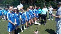 Drużyna dziewcząt zPSP im.M. Kopernika wCzarnożyłach zdobyła II miejsce wfinale mistrzostw wojewódzkich wpiłce nożnej