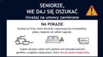 Policja ostrzega: seniorze niedaj się oszukać napokazie lub wdomu!