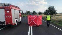 Nadrodze krajowej nr43 wmiejscowości Rychłowice zginął 49-letni mieszkaniec Wielunia