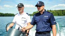 Policja apeluje orozwagę nadwodą