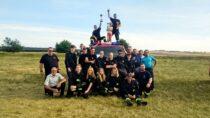 WRudzie strażacy zmagali się wzawodach sportowo-pożarniczych jednostek OSP zGminy Wieluń