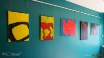 WPowiatowej Bibliotece Publicznej wWieluniu można zobaczyć wystawę malarstwa Marii Antonowskiej