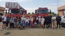 Młodzi druhowie zMDP Gmina Wieluń wrócili zobozu szkoleniowo-wypoczynkowego wKołobrzegu