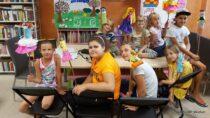 WFilii Bibliotecznej wTurowie odbyły się warsztaty literacko – rękodzielnicze