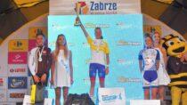 Młodziczka Anna Lipieta zMLKS Wieluń wygrała trzecią edycję Mini Tour De Pologne wZabrzu